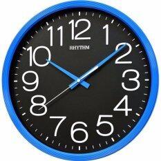 ขาย ซื้อ Rhythm นาฬิกาแขวนพลาสติก รุ่น Cmg495Dr04 สีน้ำเงิน กรุงเทพมหานคร