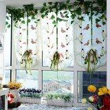 ซื้อ Romantic Butterfly Embroidered Lift Kitchen Curtain Voile Door Window Curtain Home Decortion Curtains For Living Room Tulle Blackout Curtains Intl Unbranded Generic ถูก