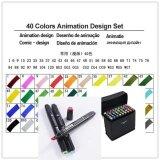 ซื้อ Roselife Touchfive 40 Colors Art Animation Design Comic Design Sketch Twin Marker Pen Art Copic Markers Pen Set Oily Alcoholic Dual Headed Sketch Markers Intl ออนไลน์ จีน