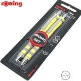 ส่วนลด Rotring ชุดดินสอและปากกา 2ชิ้น ชุด สีเหลือง Rotring
