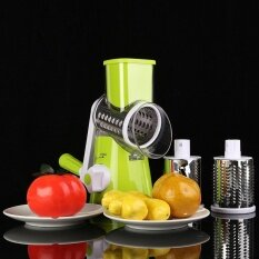 ขาย Round Mandoline Vegetable Slicer Potato Julienne Carrot Grater Cheese Cutter Intl