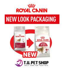 Royal Canin Fit 4kg อาหารสำหรับแมวโตอายุ 1 ปีขึ้นไป ขนาด 4 กก. (สินค้าหมดอายุ มิถุนายน 2562)