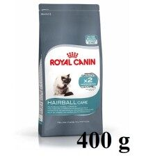Royal Canin Hairball Care 400gโรยัลคานิน สูตรสำหรับแมวโตอายุ1ปีขึ้นไป เพื่อการกำจัดก้อนขนตามธรรมชาติ ขนาด400กรัม