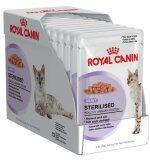 ราคา New Packaging Royal Canin Sterilised In Gravy 85G X 12 Pouches โรยัลคานิน อาหารเปียกแบบซอง สูตรสำหรับแมวทำหมัน อายุ 1 10 ปี เกรวี่ 12 ซอง ที่สุด