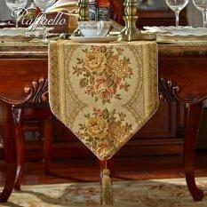ราฟาเอลผ้าสไตล์ยุโรปผ้าปูโต๊ะผ้าปูโต๊ะผ้าปูโต๊ะเสื่อตารางสีกาแฟ ใหม่ล่าสุด