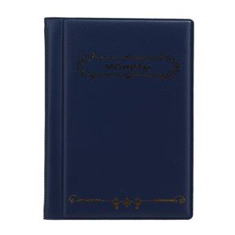 Russian Coin Album 10 Pages Units Coin Collection Book (Blue)