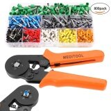 ราคา Sale At Breakdown Price Cyber Low Profit Crimp Tool Kit Crimper Plier Wire Terminal And Connection Kit With Ferrule Crimper Plier And 800 Connectors Terminal Intl ใหม่