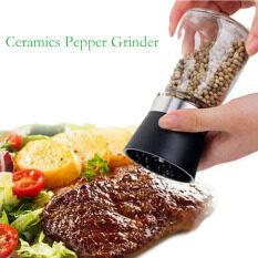 ขาย Salt And Pepper Mill Grinder Glass Pepper Grinder Shaker Spice Salt Container Condiment Jar Holder New Ceramic Grinding Bottles3 Intl ใหม่