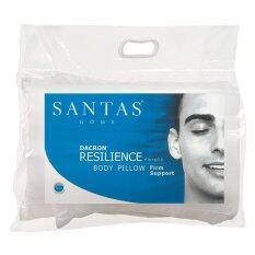 ซื้อ หมอนกอด Santas รุ่น Dacron Resilience 18 X 50 นิ้ว Santas ถูก