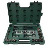 ขาย Sata เครื่องมือช่างบล็อกชุด รู1 2 6เหลี่ยม 25 ตัวชุด รุ่น 09061 25Pc 1 2 Dr Socket Set Metric ราคาถูกที่สุด