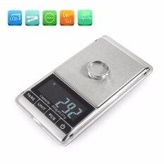 SAVFY เครื่องชั่งดิจิตอล Mini Digital Jewelry Pocket GRAM (300g-0.01 - Rubber Black)