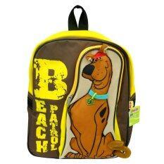 ทบทวน กระเป๋าเป้ Scooby Doo Beach Patrol สีน้ำตาล เหลือง