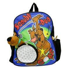 ราคา กระเป๋าเป้ Scooby Doo Golf สีดำ ฟ้า เป็นต้นฉบับ Scoobydoo