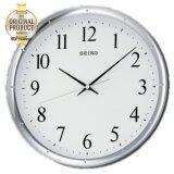 ขาย Seiko นาฬิกาแขวน 12 นิ้ว ขอบเงินหน้าขาว รุ่น Qxa417S Seiko