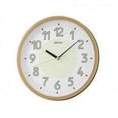ทบทวน Seiko นาฬิกาแขวนผนัง 12 หน้าพรายน้ำ ขอบบอร์นทอง รุ่น Qxa473G Seiko