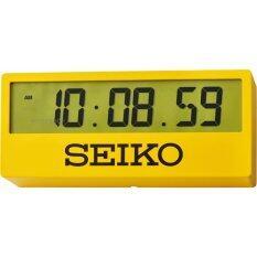ซื้อ Seiko Alarm Clock Qhl073Y นาฬิกาปลุกดิจิตอล เลือกตั้งโต๊ะหรือแขวนผนัง ใหม่