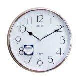 โปรโมชั่น Seiko นาฬิกาแขวน รุ่น Paa001St ขอบเงิน ถูก