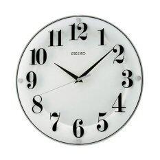 ขาย Seiko นาฬิกาแขวนเครื่องเดินเรียบแนวโมเดิล รุ่น Qxa445W สีขาว Seiko ใน ไทย