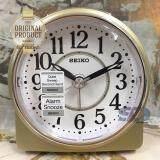 ซื้อ Seiko นาฬิกาปลุก Alarm Clock Snooze Qhe137G สีบอร์นทอง ออนไลน์