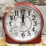 ซื้อ Seiko นาฬิกาปลุก Alarm Clock Snooze Qhe137R สีบอร์นแดง ถูก