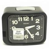 ขาย ซื้อ ออนไลน์ Seiko นาฬิกาปลุก ตั้งโต๊ะ รุ่น Qhk028J สีดำ ดำ