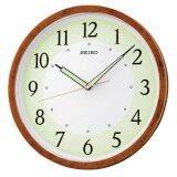 ราคา Seiko นาฬิกาแขวนเครื่องเดินเรียบแนวโมเดิล รุ่น Qxa472B สีไม้ Seiko ไทย