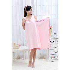 ราคา Selected ผ้าขนหนูอาบน้ำไมโครไฟเบอร์ สีชมพู ที่สุด