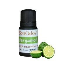 Senodos 100% Bergamot Pure Essential Oils Undiluted Therapeutic Grade 10ml.