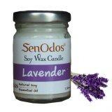ซื้อ Senodos เทียนหอม อโรม่า Lavender Scented Soy Candle Aroma 45 G กลิ่นลาเวนเดอร์แท้ ใหม่ล่าสุด