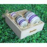 ขาย ซื้อ ออนไลน์ Senodos Lover Set ชุดของขวัญ ชุดกิ๊ฟเซ็ต Gift Set เทียนหอม อโรม่า Lavender Scented Soy Candle Aroma Set ชุดเทียนกลิ่นลาเวนเดอร์แท้ บรรจุในกล่องไม้สน รูปทรงเหลี่ยม สวยงาม คุณภาพดี นำเข้าจากนิวซีแลนด์