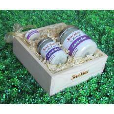 ขาย ซื้อ Senodos Lover Set ชุดของขวัญ ชุดกิ๊ฟเซ็ต Gift Set เทียนหอม อโรม่า Lavender Scented Soy Candle Aroma Set ชุดเทียนกลิ่นลาเวนเดอร์แท้ บรรจุในกล่องไม้สน รูปทรงเหลี่ยม สวยงาม คุณภาพดี นำเข้าจากนิวซีแลนด์ ใน กรุงเทพมหานคร