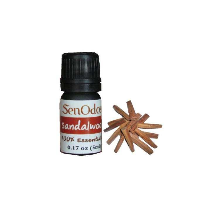 แนะนำ SenOdos Sandalwood Pure Essential Oils น้ำมันหอมระเหยแท้ กลิ่นไม้หอมแก่นจันทร์ 5 ml.
