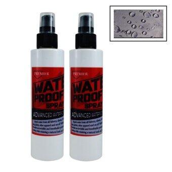 สเปรย์กันน้ำ เคลือบป้องกันน้ำซึมสำหรับผ้าบุเฟอร์นิเจอร์ โซฟา รองเท้า 243 มล (2ขวด) Fabric Waterproof Spray