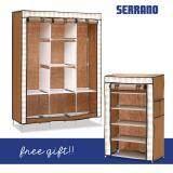ขาย Serrano Cabinet Special Set เซตตู้เสื้อผ้าใบใหญ่ ฟรี ตู้วางรองเท้า 5 ชั้น ถูก ใน กรุงเทพมหานคร