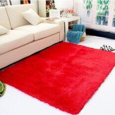 ราคา ขนกันลื่นพรมปูพื้น ปูเสื่อ 80ซม X 120ซม สีแดง นานาชาติ Unbranded Generic ออนไลน์