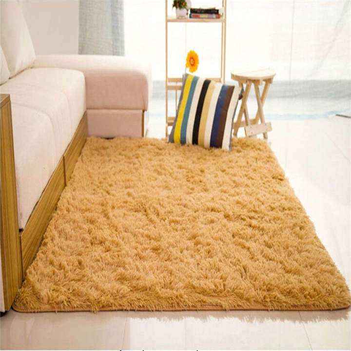 Big sale Shaggy Anti-skid Carpets Rugs Floor Mat/Cover 80x120cm Pink - intl. Source · ยี่ห้อ