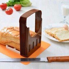 โปรโมชั่น Shakalaka 1Pcs Toast Bread Slicer Bread Baking Tools Bread Slicing Rackslicer Intl ถูก
