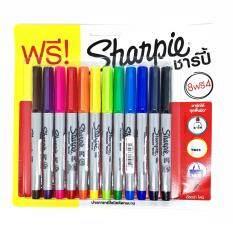 ซื้อ Sharpie ปากกามาร์กเกอร์ 3 Mm ชาร์ปี้ Ultra Fine 12 สี Sharpie เป็นต้นฉบับ