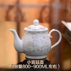 แฟชั่นขนาดใหญ่พอร์ซเลนน้ำเย็นหม้อกาน้ำชา ถูก