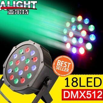 shop108 18LED Par Lighting ไฟดิสโก้เทค ไฟ Spotlight ไฟคาราโอเกะ ไฟเวที รุ่น P18