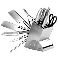โปรโมชั่น Shop108 Germany Steels ชุด Set มีดทำครัวสแตนเลส อเนกประสงค์ 6 ชิ้น Silver ถูก