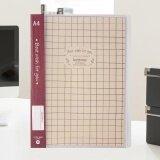 ซื้อ Simple Display Book File Document File With 20 Pocket Bound In A4 Sheet Intl ใน เกาหลีใต้
