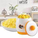 ขาย ซื้อ ออนไลน์ Sinlin Scrambled Egg ถ้วยเซรามิกทำไข่คน ไข่ตุ๋น ถ้วยไมโครเวฟ Egg Tastic รุ่น Ets204 45Ai สีขาว