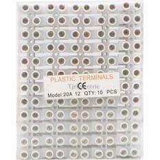 ส่วนลด Slw แพ็ค X 10 เส้น ลด 25 เต๋า ต่อสายไฟ 10 มม 20A เต๋า พลาสติก เกรด A สีขาว Sl ใน กรุงเทพมหานคร