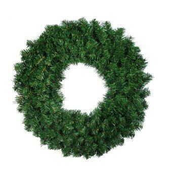 Small Christmas Wreath christmas decorations Tree Ornament Green Dia.30cm - intl