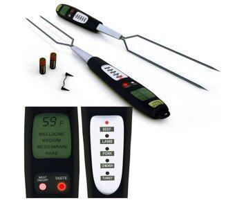 สมาร์ทเครื่องวัดอุณหภูมิเนื้อสัตว์ดิจิตอลทันทีบาร์บีคิวโปรแกรมทำอาหาร