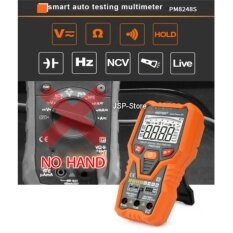 ซื้อ Jsp มัลติมิเตอร์ ดิจิตอล มัลติมิเตอร์ อัจฉริยะ Smart Digital Multimeter ฟูลฟังก์ชั่น และวัดอุณหภูมิ True Rms รุ่น Peak Meter Pm8248S ถูก ใน ไทย