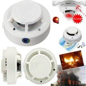 Smoke Alarm ไฟฉุกเฉินดับเพลิง วัสดุดับเพลิง อุปกรณ์เพื่อความปลอดภัยภายในบ้าน Smoke Detector(ขาว)