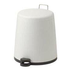 SNAPP ถังขยะแบบเหยียบ Pedal bin ขนาด 5 ลิตร (ขาว)