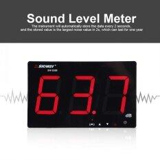 ซื้อ Sndway Usb Powered 9 6 Lcd Digital Sound Level Meter Wall Hanging 30 130Db Noise Tester Intl Unbranded Generic ออนไลน์